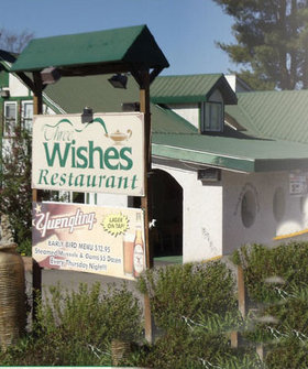 Three Wishes Restaurant offers a fine dining experience with Continental style in Beach Lake Wayne County Pennsylvania in the Pocono Mountains